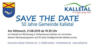 Save the Date Karte
